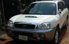 Hyundai Santa Fe 2000 White for sale