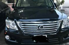 Lexus LX570 2012 Black for sale