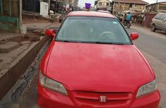 Honda Accord 5P 2001 Red for sale