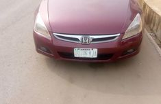 Honda Accord 2004 Automatic Red for sale