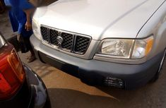 Toks Subaru Forester 2001 Automatic Silver for sale
