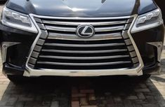Lexus LX 2017 Black for sale