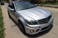 2010 Silver Mercedes-Benz C63 for sale