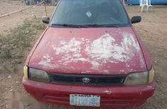 Toyota Starlet 1999 Red for sale