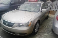 Hyundai Sonata 2007 Gold for sale