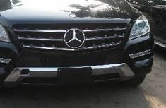 2013 Mercedes-Benz ML350 Automatic Petrol well maintained Black For Sale