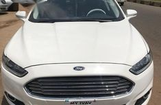 Ford Fusion 2015 White for sale