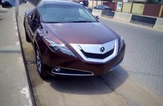 Acura ZDX 2010 Brown for sale