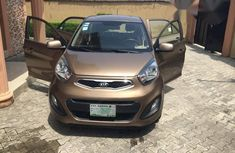 Kia Picanto 2014 Brown for sale