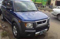 Honda Element 2005 Blue for sale