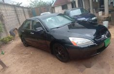 Honda Accord 2.4 Type S Automatic 2004 Black for sale