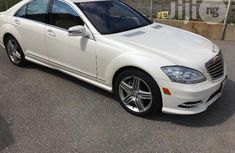 Mercedes-Benz S550 2012 White for sale