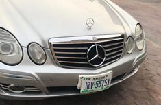 Mercedes-Benz E500 2004 Silver for sale
