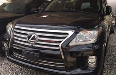 Lexus LX 2013 Black for sale