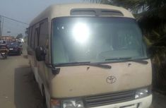 Toyota Coaster 2009 Beige for sale
