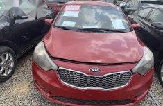 Kia Cerato 2015 Red for sale