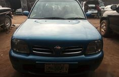 Nissan Micra 2000 Blue color for sale