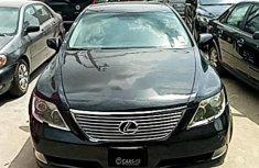 Lexus LS 2009 Automatic Petrol Black  ₦2,100,000 For Sale