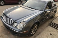 Mercedes-Benz E500 2006 Gray for sale