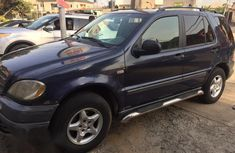 Mercedes-Benz ML320 2002 Blue  for sale