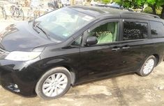 Toks Toyota Sienna 2013 Black for sale