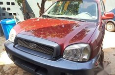 Hyundai Santa Fe 2004 Red For Sale