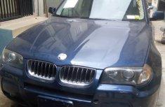 BMW X3 2006 Blue for sale