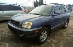 Toks Hyundai Santa Fe 2004 Beige for sale