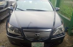 Acura RL 2006 Blue color for sale