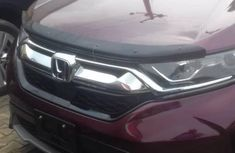 Tokunbo Honda CR-V 2017 Red for sale