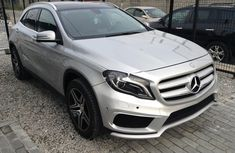 Almost brand new Mercedes-Benz GLA 2015 Silver for sale