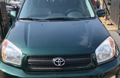 Toyota RAV4 2001 Green for sale