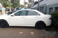Acura CSX 2005 White color for sale