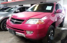 Acura MDX 2002 Pink for sale
