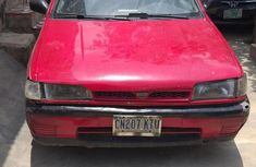 Nissan Sunny 1992 Wagon Red for sale