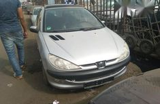 New Peugeot 206 2000 Silver for sale
