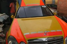 Mercedes-Benz 230E 2005 Yellow for sale