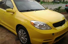 Toyota Matrix 2003 Yellow for sale