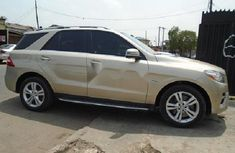 Mercedes-Benz ML350 2013 Gold for sale