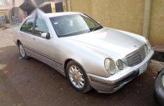 Mercedes-Benz E200 2001 Silver for sale