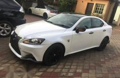 Lexus IS 2015 White for sale