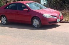 Nissan Primera 2005 Red for sale