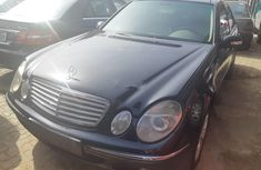 Mercedes-Benz E240 2004 Automatic Petrol Black for sale
