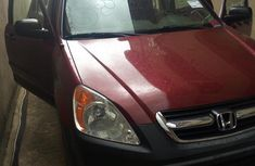Honda CR-V 2004 EX 4WD Automatic Red foor sale