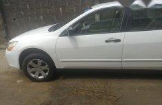 Honda Accord Sedan VP 2007 White for sale