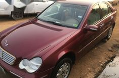 Mercedes-Benz C320 2004 Red for sale