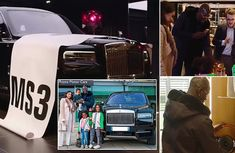Mamadou Sakho scores with Rolls-Royce Cullinan