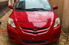 Toks Toyota Yaris 2007 1.5 Red for sale