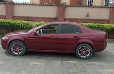 Acura TL 2006 Red for sale