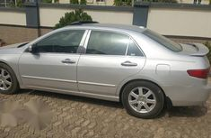 Honda Accord 2005 Automatic Silver for sale